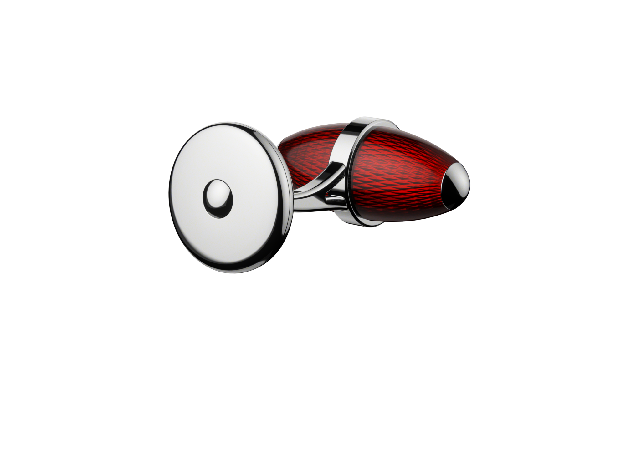 kerbedanz_Cufflinks_Ogive_ROUGE_DOS_Stainless-steel