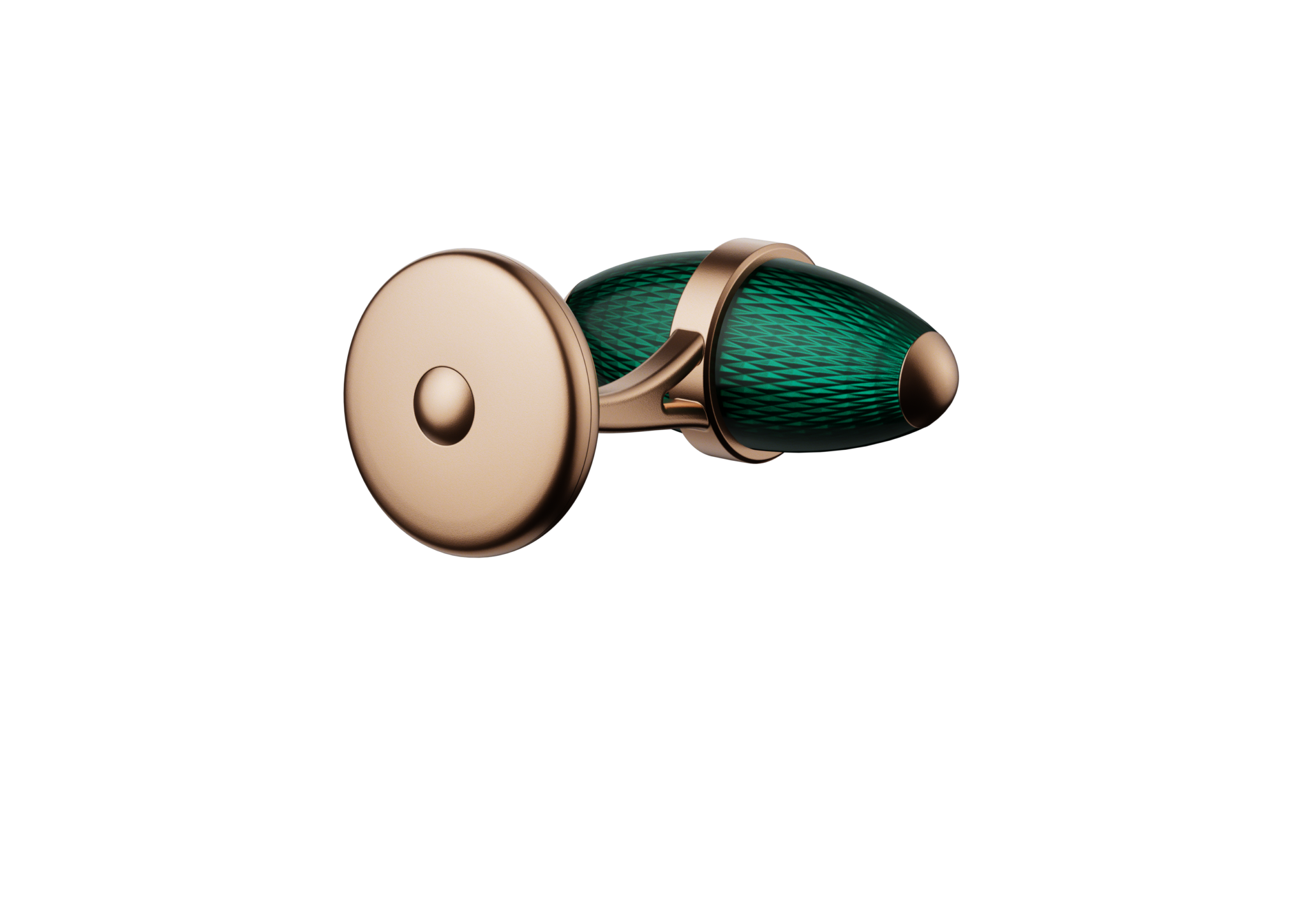kerbedanz_Cufflinks_Ogive_TURQUOISE_DOS_Rose-gold