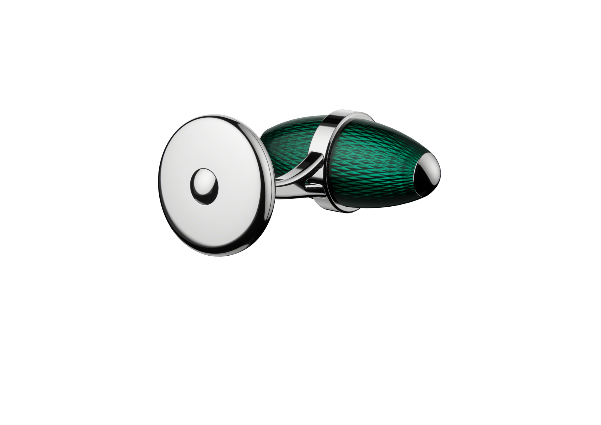 kerbedanz_Cufflinks_Ogive_TURQUOISE_DOS_Stainless-steel