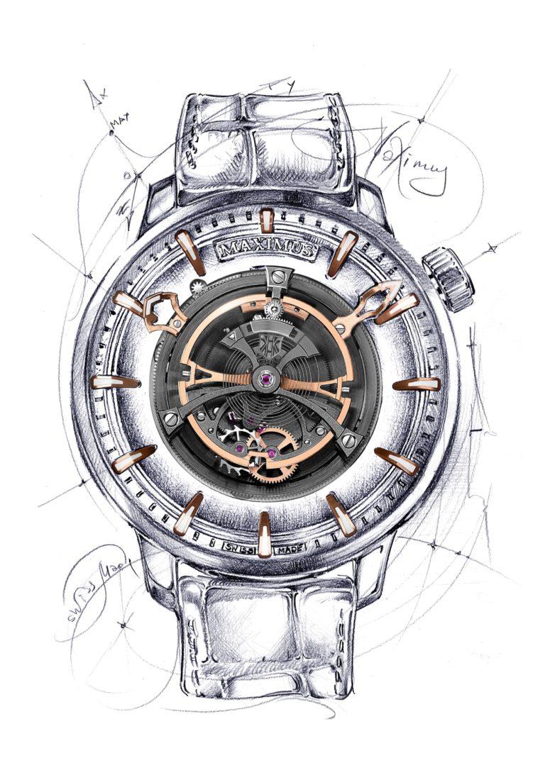 Maximus Watch by Kerbedanz